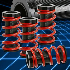 "Black Adjustable 1-3""Scaled Coilover+Red Springs for Toyota Celica T200 94-99"