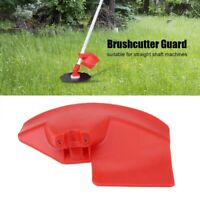 Red Brush Cutter Guard Shield for 24 26 28mm Dia. Shaft Trimmer Brush Cutter