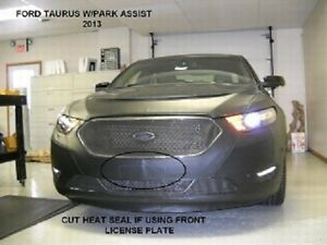 Lebra Front End Mask Cover Bra Fits FORD TAURUS & SHO w/ Park Assist 2013-2019