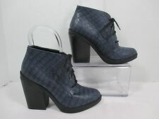 """Chinese Laundry """"Accomplice"""" Blue Lace Up Ankle Fashion Boots EUC Sz. 7M"""
