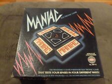 Vintage Maniac Electronic Game Ideal 1979 Works Great.