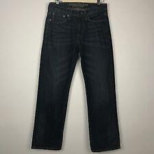 American Eagle Mens Jeans Original Straight Leg Dark Wash Denim Sz 29 x 30