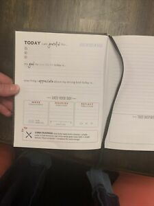 Fit Happens (Fitspiration) 16-Week Guided Fitness Journal. Never used.