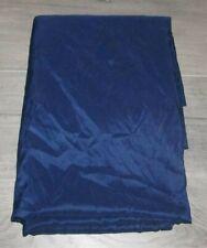 "100% Polyester Mainstays Navy Blue Full Size Flat Sheet 96"" x 81"""