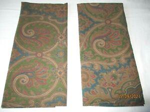 2 Lauren Ralph Lauren Brianna Paisley Standard Pillow Cases