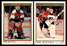 Ron Hextall | LOT x2 | 1990-91 OPC Premier #41 | 1991-92 OPC Premier #38