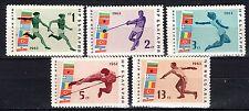 Bulgaria - 1963 Balkan games / Sport - Mi. 1399-03 MNH
