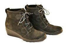 Women's SOREL Toronto Brown Suede Leather Wedge Boot sz.10