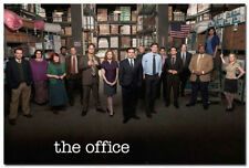 "01 The Office TV Series Comedy Cast Steve Carell Poster 24X36"" Nice Home Decor"