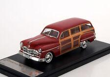 Dodge Coronet Woody Wagon 1949 Red 1:43 PremiumX