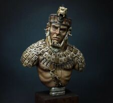 1/9 Mayan Warrior Bust Resin Figure Model Kit Unassambled Unpainted
