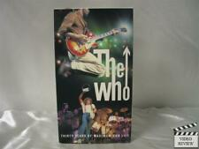 The Who - Thirty Years of Maximum R&B Live VHS no book