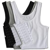 Transgender Chest binder ftm Pack of 3 Medium Breast Binders.