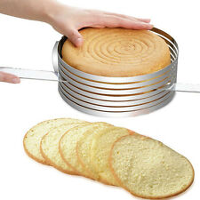sliceable round Size Adjustable Baking Mould Stainless Steel mold Cake Ring Pan