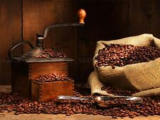 ANTIQUE COFFEE GRINDER BEANS DRINK KITCHEN PHOTO ART PRINT POSTER BMP1860A