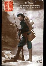 PATRIOTIQUE / CHASSEUR ALPIN en 1915