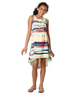 NEW Paper Doll Girls Sleeveless High-Low Dress -Multi-7