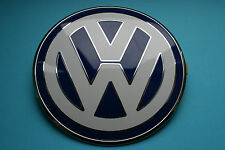Genuine Volkswagen Beetle 1999 - 2005 Front Bonnet Badge Blue 1C085361739A