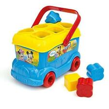 New Disney Mickey Mouse & Friends Baby Mickey Shape Sorter Bus