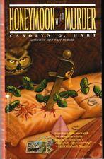 Death on Demand #4: Honeymoon with Murder - PB 1989 - Carolyn Hart