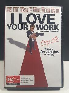 I Love Your Work (DVD, 2003) Giovanni Ribisi, Chrisina Ricci, ALL REGION