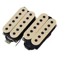 Ceramic Magnet Creamy-White Guitar Humbucker Double Coil Bridge Pickup