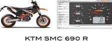 Reprog Ktm 690 Akrapovic Carto Map Evo 1 & 2 superduke SMC smcr