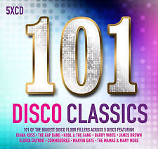 101 Disco Classics 5 CD Set Various Artists 2017