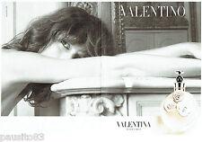 PUBLICITE ADVERTISING 066  2012  Valentino (2p) parfum femme Valentina