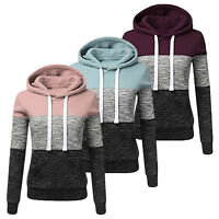 Womens Sports Hoodie Sweatshirt Long Sleeve Hooded Sweater Pullover Sweats Tops