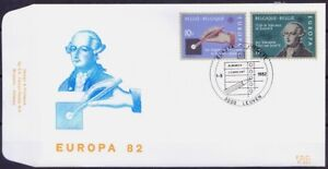 Europa, Historical events, Belgium 1982 FDC