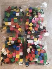 400 pc Centimeter Cubes Non-Interlocking algebra math homeschool Brand New