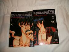 Kaikan Phrase, tome 1 et 2, édition Pika, français