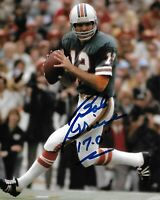 Bob Griese Signed Autographed 8 x 10 Photo ( DOLPHINS HOF ) REPRINT