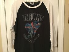 VTG The Who Long Live Rock Madison Square Garden September 1979 Concert Jersey L