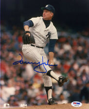 Tommy John SIGNED 8x10 Photo New York Yankees PSA/DNA AUTOGRAPHED