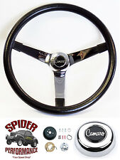 "1969-1973 Camaro steering wheel CAMARO chrome spoke 14 3/4"" Grant steering wheel"