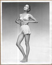 Vintage 8x10 Vanity Fair Lingerie Press Photo Pretty Model in Undies