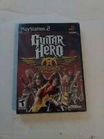 Guitar Hero Aerosmith Sony Playstation 2 PS2 Brand New Sealed