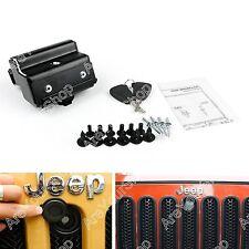 Für 2007-2016 Jeep Wrangler JK Hood Lock Kit Assembly Anti-Theft Security Lock
