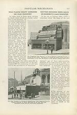 1918 Magazine Article Giant Cash Register Built for War Bond Sale Dayton Ohio