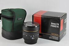 Sigma EX 8mm f4 EX DG for Nikon SLR 8mm  DG Fisheye Lens BOXED