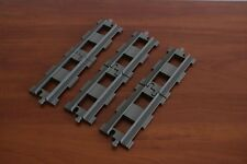 Lego Duplo Eisenbahn Train Set 2734-1 Straight Rails 6x Dark ( Old ) Gray Color