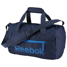 Reebok Small Grip Team Shoulder Sports Gym Travel Bag Holdall Navy New