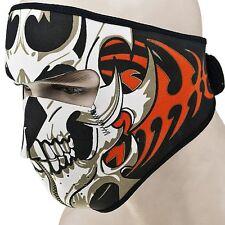 Motorcycle Snowboard Biker Neoprene Ski Snow Skull Full Face Mask Halloween US