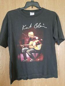 Vintage Nirvana T Shirt Kurt Cobain Unplugged Nixon Band Tee 90s Concert Tour