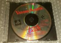 Vandal-Hearts PlayStation 1 1997 Disc Only Black Label PS1