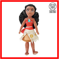 Moana Disney Soft Toy Vaiana Princess Rag Doll Plush Stuffed Figure Character