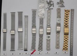 Bracelet Metal Milanaise. Sizoreflex .(Rowi . ZRC ) 10.12.14.16.18.20.22.24 mm