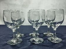 Wine Glasses Libbey 3764 Restaurant Quality 6 Glasses New